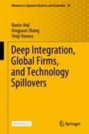 """春名章二特任教授と張星源教授の著書 """"Deep Integration, Global Firms, and Technology Spillovers"""" (with Naoto Jinji)がSpringerから出版されます。"""